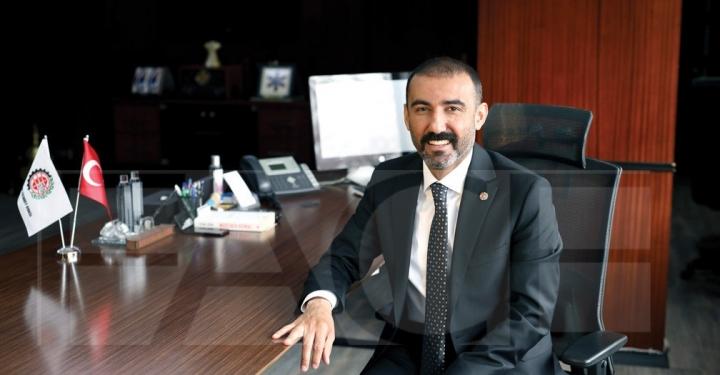 Dergimizin kapak konuğu: Gaziantep Ticaret Odası (GTO) Yönetim Kurulu Başkanı Tuncay Yıldırım..